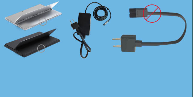 Microsoft AC Power Cords for Surface Pro Devices