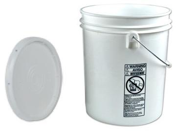 Picture of a large size bucket with lid