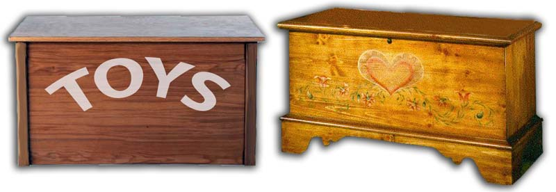 Toy chest and Storage