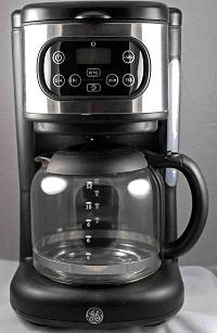 Recalled Black Digital Coffee Maker