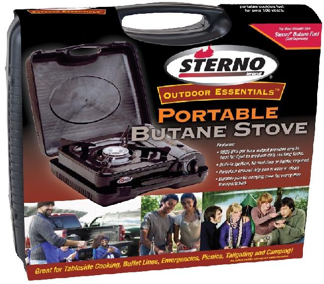 Recalled Portable Butane Stove Packaging