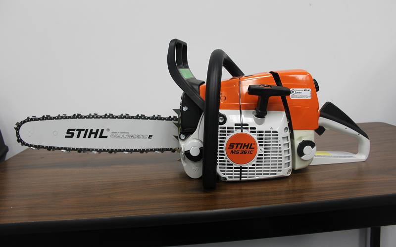 Recalled chain saw