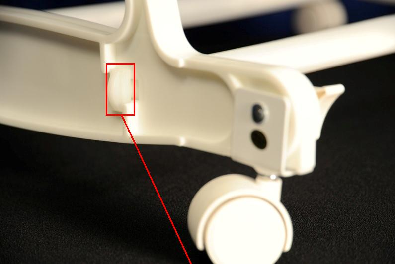 Picture Showing Correct Installation of End Tabs