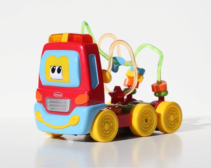Picture of recalled toy activity truck