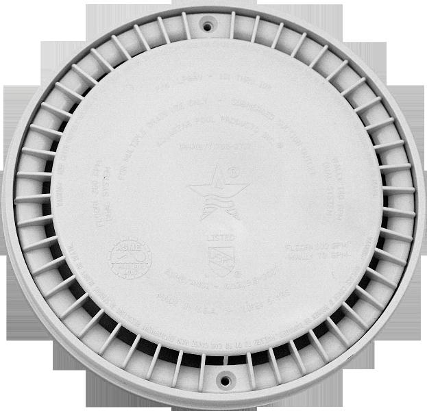 Picture of recalled Aquastar drain cover