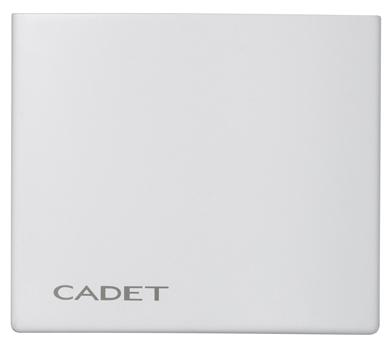 Picture of recalled Cadet thermostat front