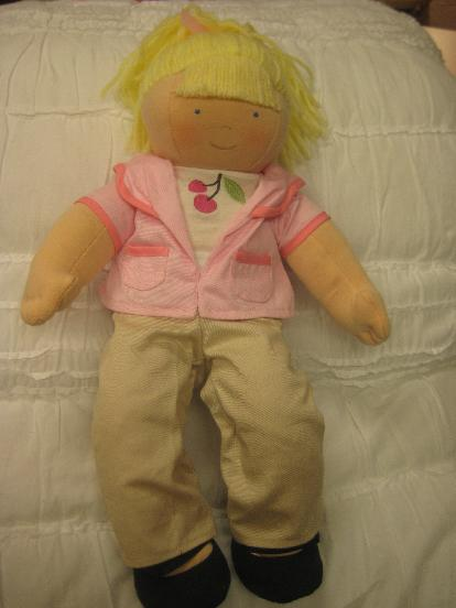 Picture of recalled SOPHIE doll