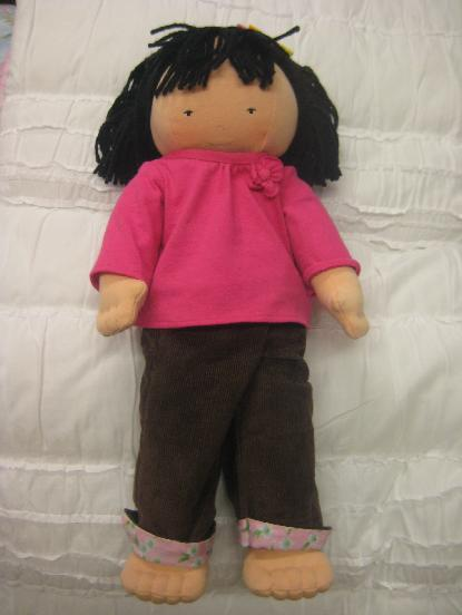 Picture of recalled AUDREY doll