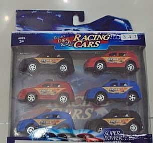 Picture of recalled toy Racing Cars
