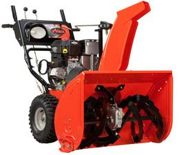 Recalled snow thrower