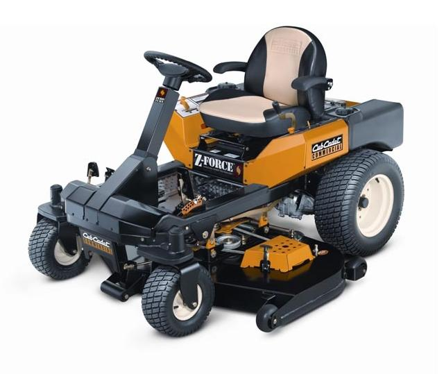 Picture of Cub Cadet Z-Force Commercial Recalled Riding Lawn Mower
