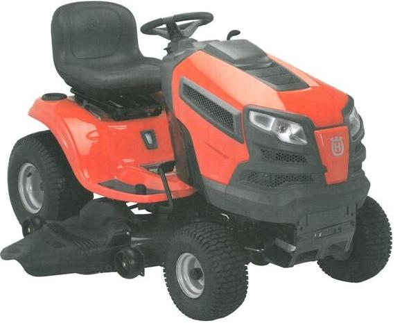 Picture of recalled yard tractor