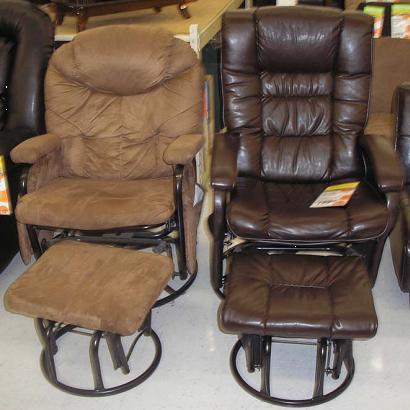 Big Lots Recalls Glider Recliners With Ottomans Due To
