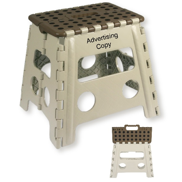 Recalled folding step stool
