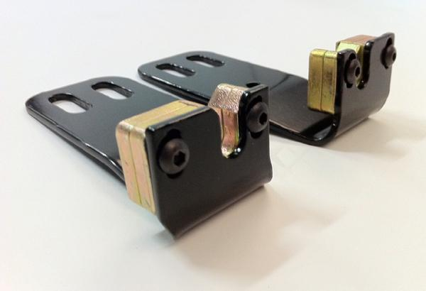 Utility vehicle latches