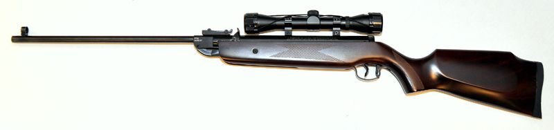 Soft Air Swiss Arms break-barrel, single-shot air rifle