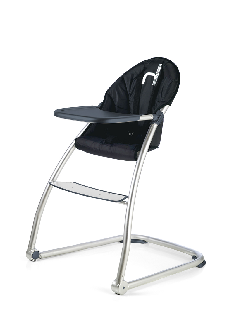 Black BabyHome Eat high chair