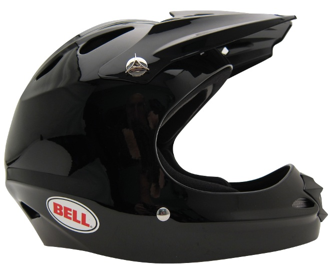 Bell Full Throttle Helmet, side view