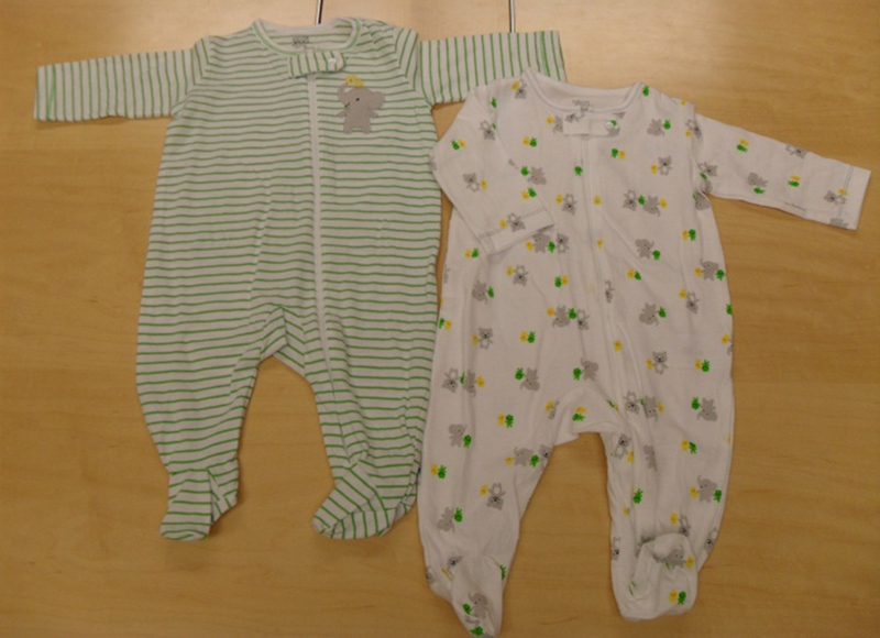Just One You® infant clothing, Styles 520-244 and 597B539
