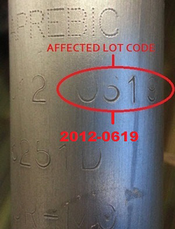 Surly bicycle fork date code