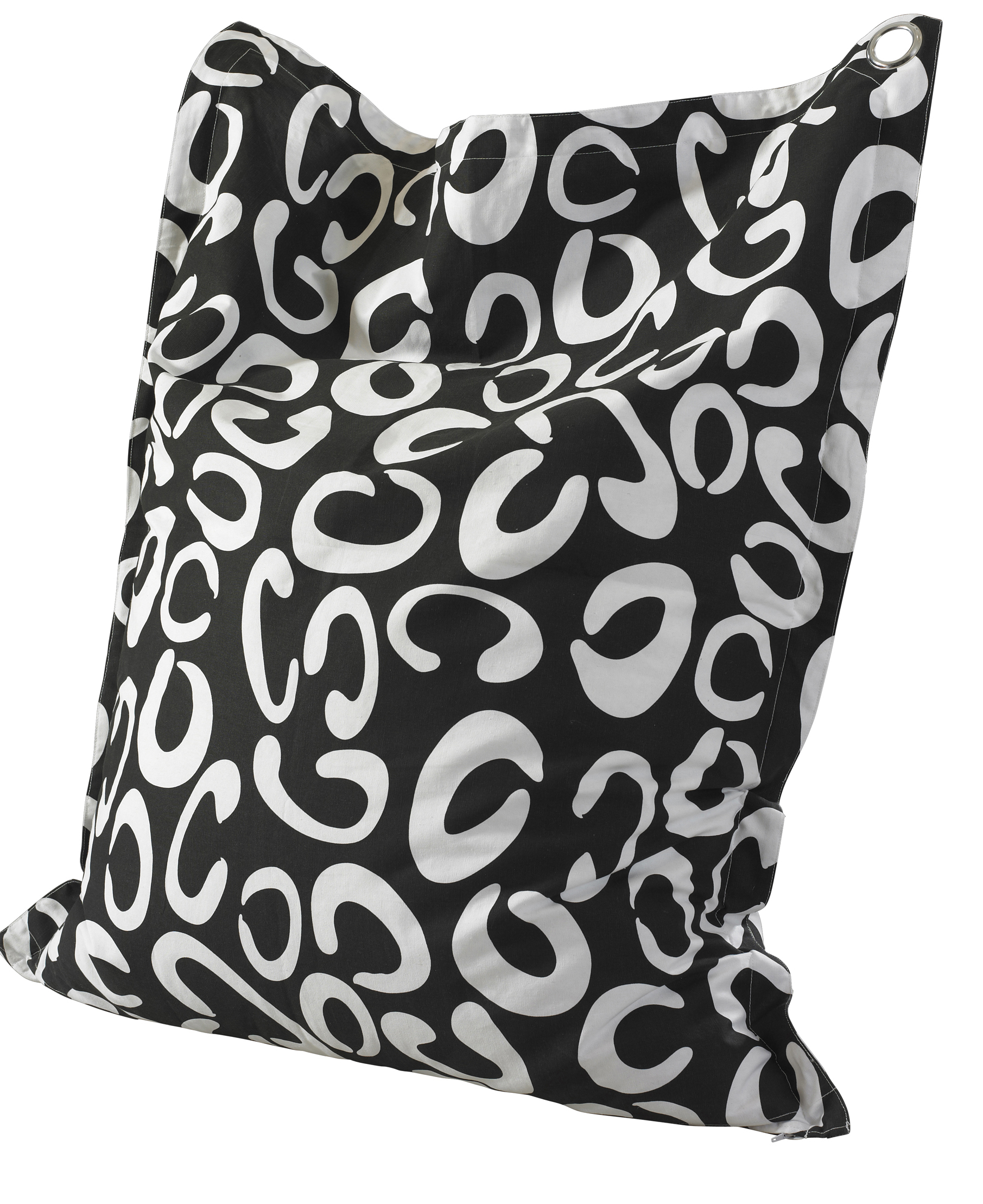 Black & White Anywhere Lounger 199-B012
