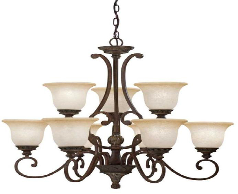 Kichler lighting recalls chandeliers due to injury hazard sold exclusively at lowe s stores - Can light chandelier ...
