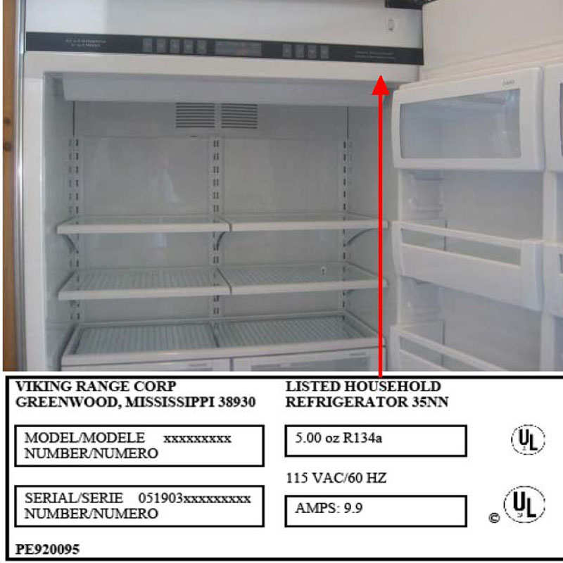 Viking Range Expands Recall Of Built In Refrigerators With