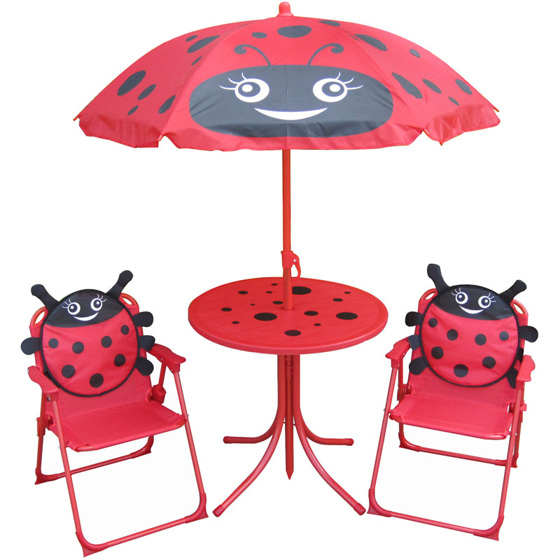 Far East Brokers Recalls Ladybug themed Kids' Outdoor Furniture Due to Violat