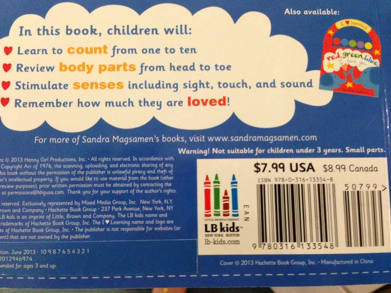 Children S Book Back Cover : Hachette book group recalls children s books due to
