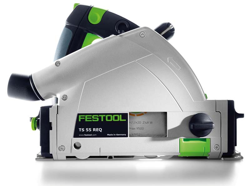 Festool TS 55 REQ Plunge Cut Circular Saw, front view