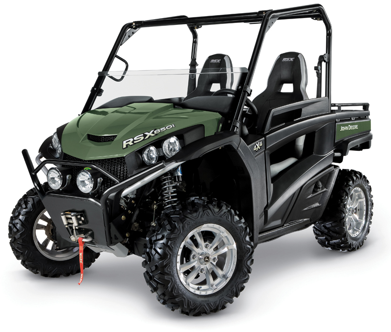 Gator Rsx850i http://www.myrepairhelp.com/john-deere-recalls-gator-utility-vehicles-due-to-fire-hazard/