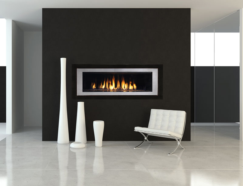 RHAP54 (Rhapsody) model fireplace