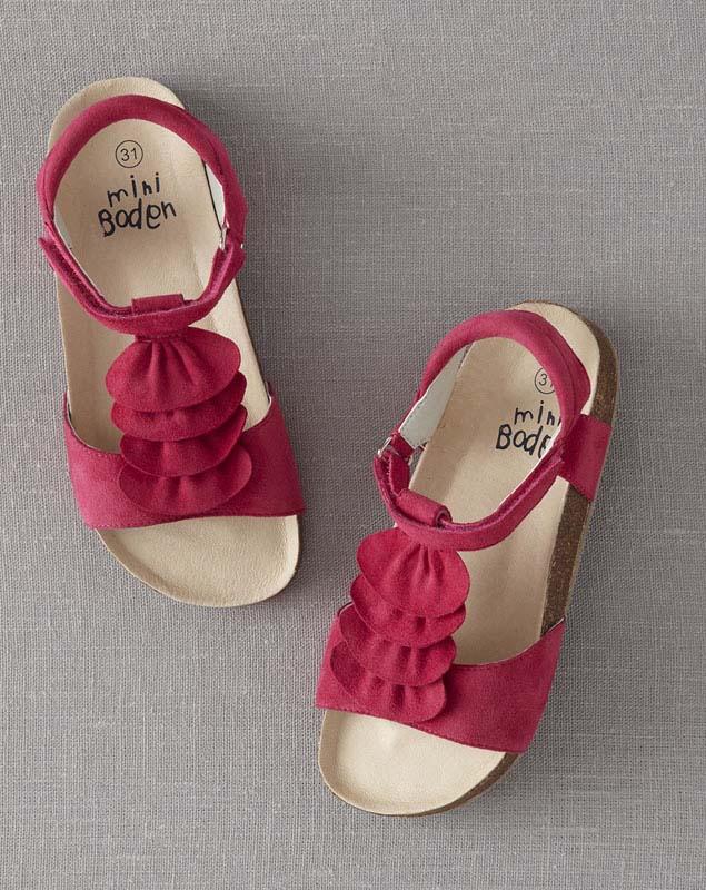 JP Boden pink girls' sandals
