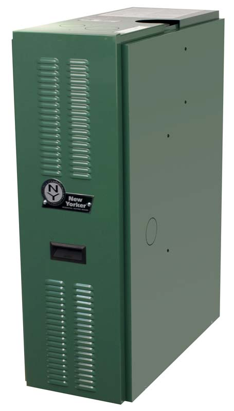 Recalled New Yorker hot water boilers were manufactured between May 2012 and February 2013.