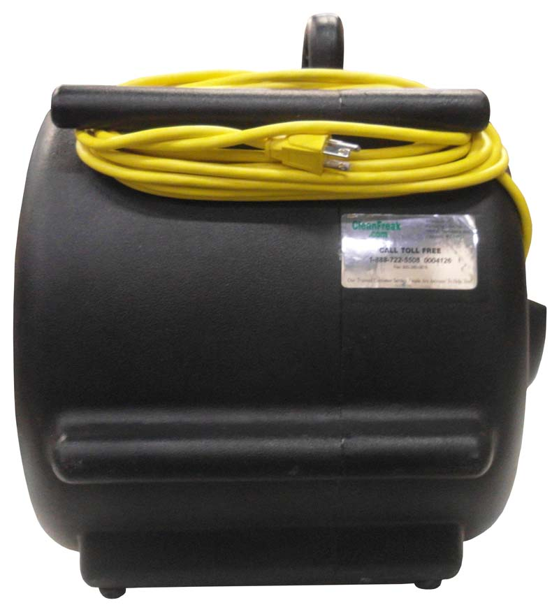 Recalled black air mover (back view)