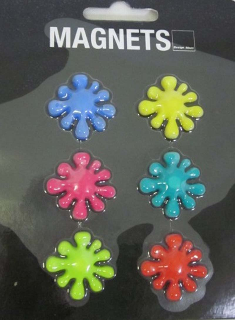 Design Ideas Splat Magnets