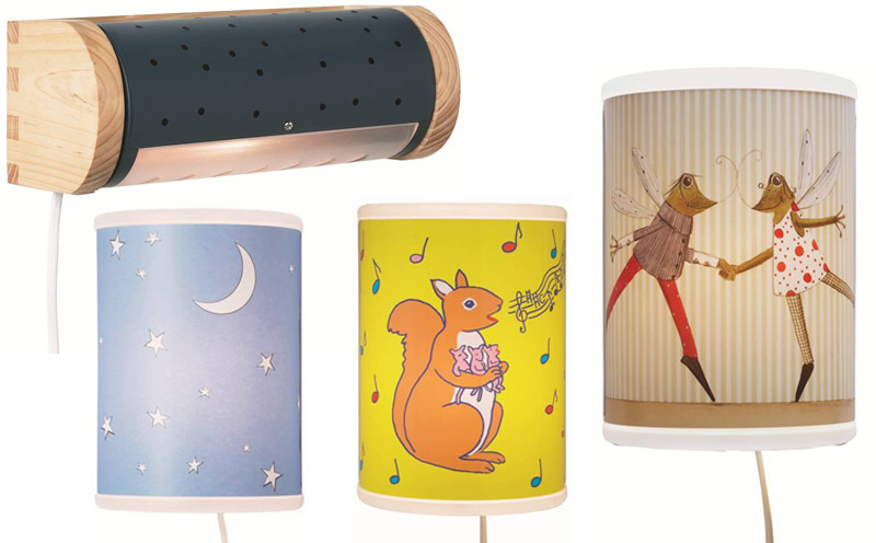 TASSA children's wall-mounted lamps