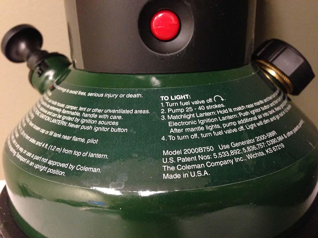 Coleman Recalls Northstar Lanterns Due To Fire Hazard