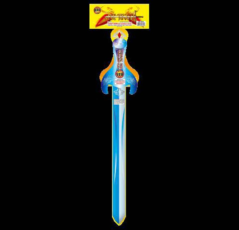 Big Fireworks Sword Style Fountain Fireworks Device