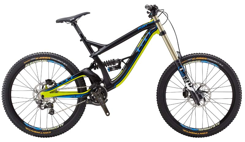2014 GT Fury Team downhill mountain bicycle