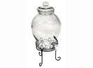Far East Brokers Recall Glass Beverage Dispenser Set