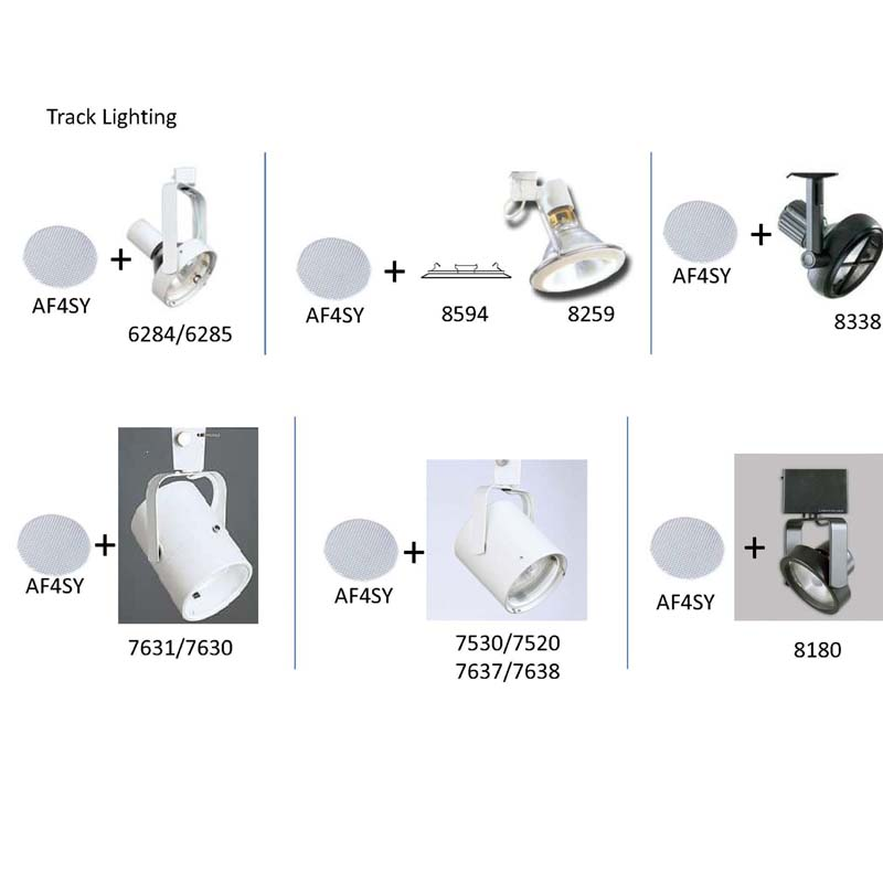 "Light fixtures compatible with Philips Lighting ""Lightolier"" AF4SY Glass Lens"