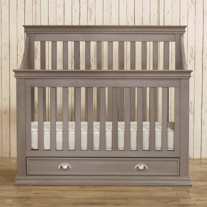 Franklin Amp Ben Mason 4 In 1 Crib In Gray