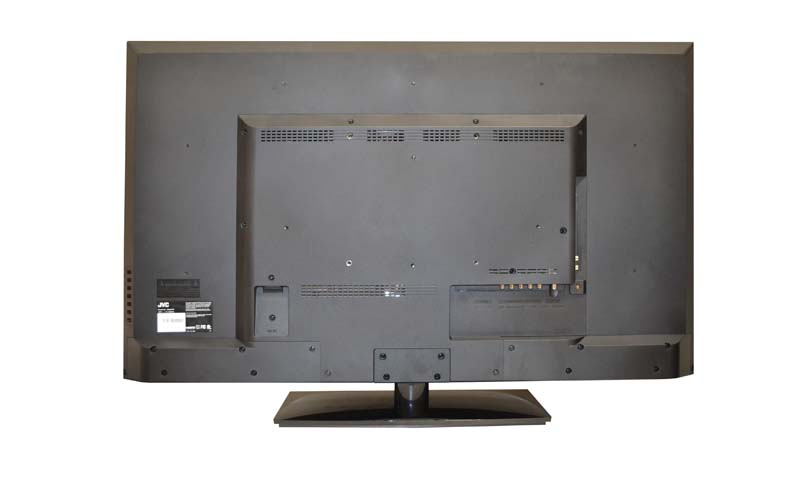 JVC Emerald series television, model EM42FTR (back)