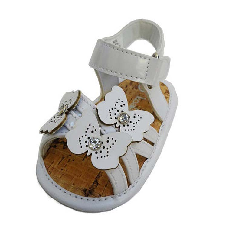 Koala Baby white children's sandals