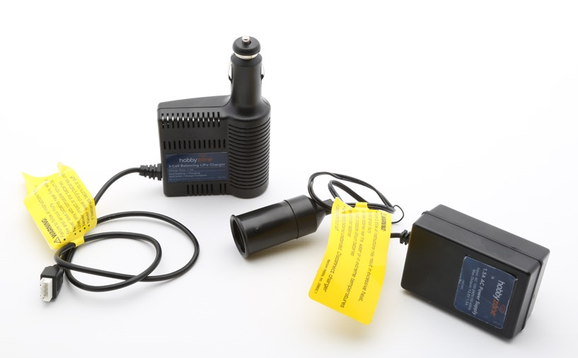 HobbyZone Super Cub Radio-Controlled Aircraft Charger and Power Supply