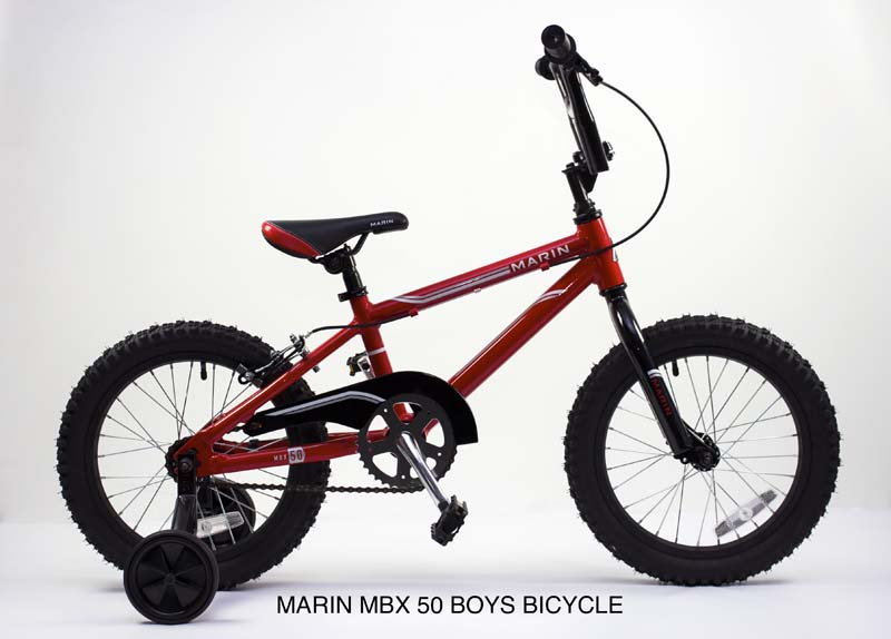 2014 Marin MBX 50 and Tiny Trail Bicycles