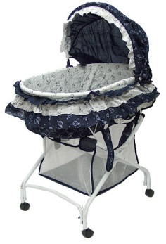 Bassinet model #439B – 2-in-1 Cradle to Bassinet.