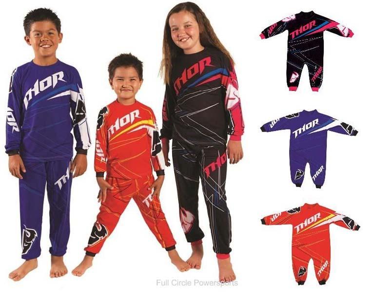 K.J. Sportswear California Thor One Piece and Two-Piece Pajamas