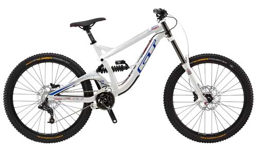2015 GT Fury Elite downhill mountain bicycle